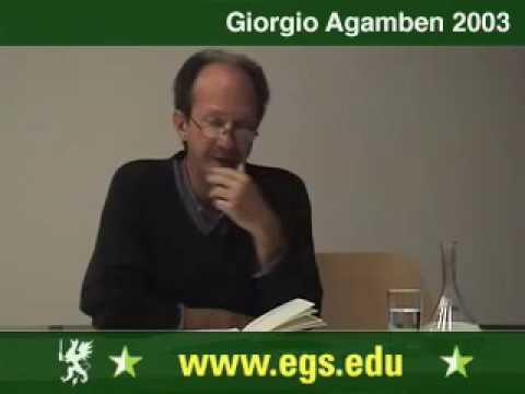 Giorgio Agamben. The State of Exception. Der Ausnahmezustand. 2003 1/7