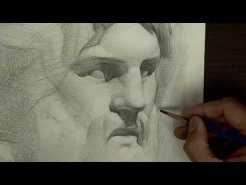 Hướng Dẫn Vẽ Đầu Tượng, Luyện Thi Kiến Trúc Khối V - V1
