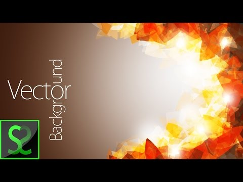 Abstract Vector Background | Photoshop tutorial