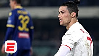 Verona 2-1 Juventus analysis: Juve's dependency on Cristiano Ronaldo is getting heavier | Serie A