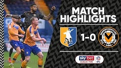 Mansfield Town v Newport County highlights