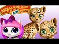 Baby jungle Animal Hair Salon - Fun Animals Care Games for Kids or Babies.