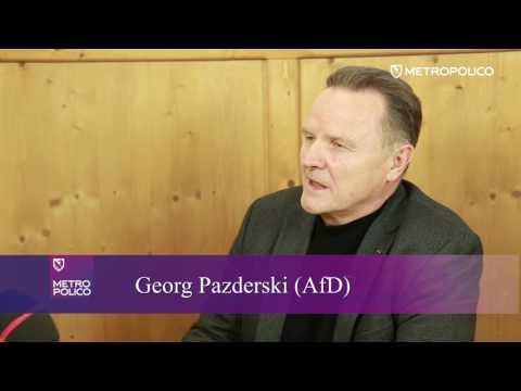 Georg Pazderski zu Björn Höcke, freie Presse, Nato, Innere Sicherheit und Extremismus