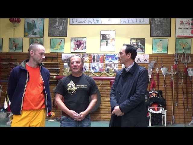 Meeting my old Master of Shaolin Jiao Hong Bo after 30 years