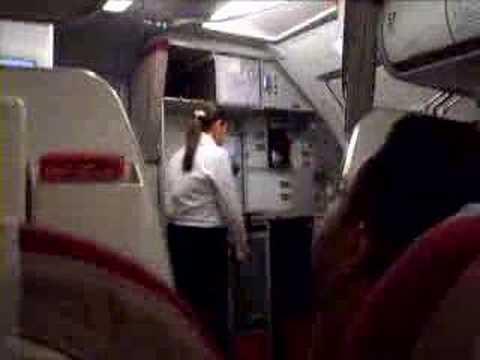 Vídeo Comissaria de bordo curso