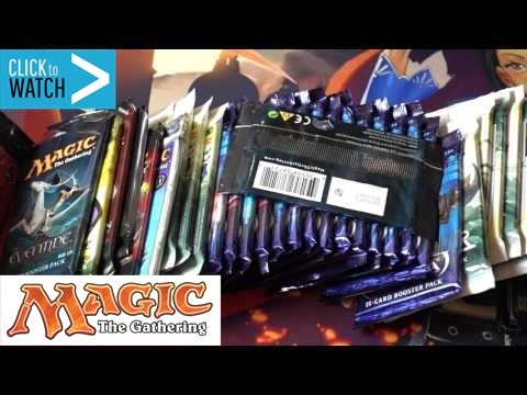 Buying & Opening Magic the Gathering Booster Packs for Value
