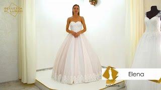 ВИДЕО ОБЗОР  Свадебное платьe Elena от бренда Bellezza e Lusso