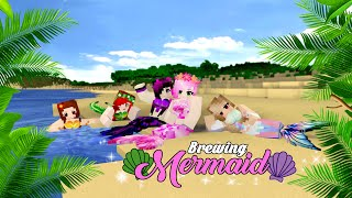 BREWING MERMAID: Beautiful Girl Mermaid   Monster School - Minecraft Funny Animation