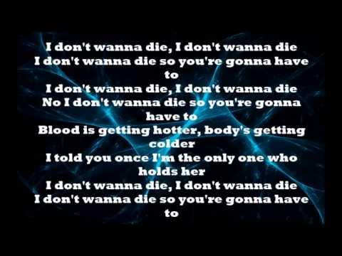 Nightcore - I don't wanna die (Lyrics )( Screen and Description )