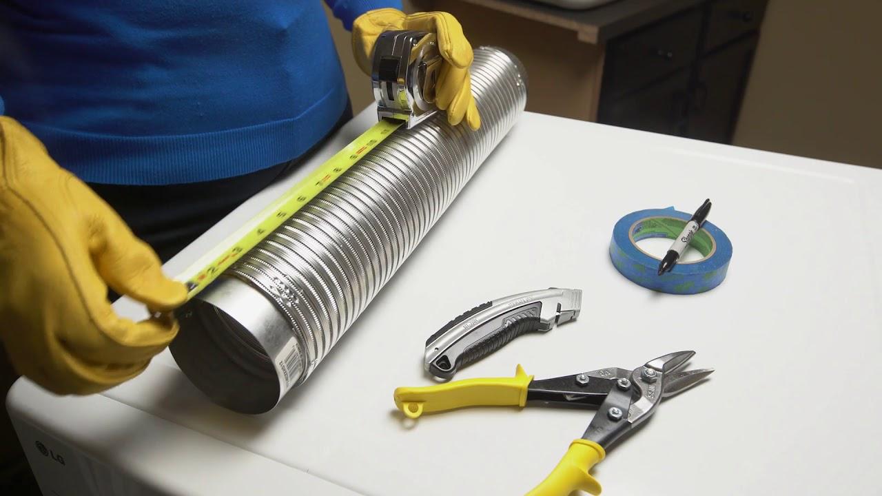 shorter dryer hose