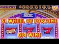 WHEEL OF FORTUNE ★ $7 MAX BET  $1,000 PAYLINES GROUP PULL (2/6)