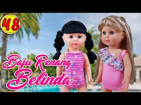 #48 Baju Renang Belinda - Boneka Walking Doll Cantik Lucu -7L | Belinda Palace