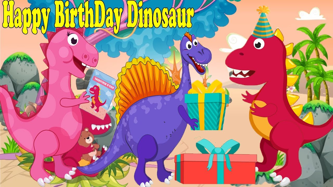 Happy Birthday The Good Dinosaur Dinosaurs Cartoons For Children