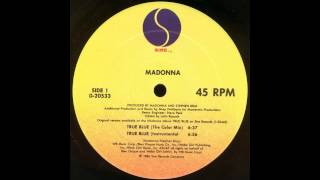 True Blue (Instrumental) - Madonna