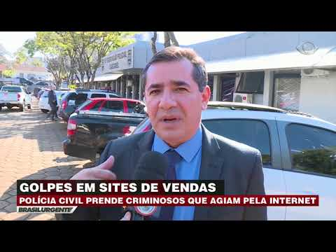 Polícia acaba golpe do carro de luxo pela internet