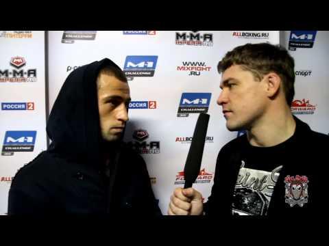 Интервью Маирбека Тайсумова после турнира M 1 Challenge 35