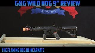 "G&G Wild Hog 9"" Airsoft Gun Review"