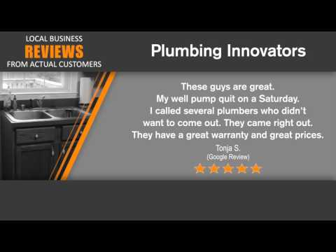 Plumbing Innovators - REVIEWS - Plumbers in Fredericksburg, VA