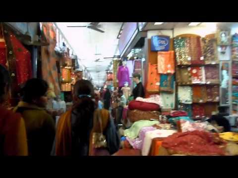 Bazaar (Aminabad market) in Lucknow, India