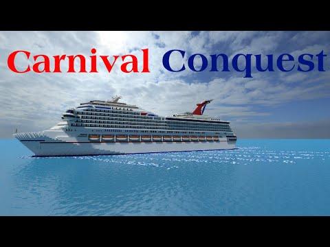 Minecraft Cruise Ship - Carnival Conquest [+Download]