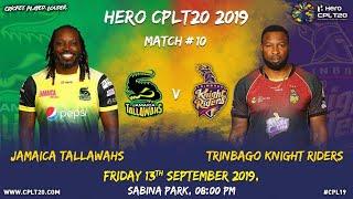 JAMAICA TALLAWAHS V TRINBAGO KNIGHT RIDERS | #CPL20 #MondayMemories #CricketPlayedLouder #JTvTKR