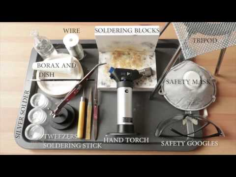 Learn silversmithing: BASIC TOOLS. Supplies to get started. Silversmithing for beginners.