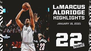 Highlights: LaMarcus Aldridge 22 PTS Vs. POR | 1.18.2021
