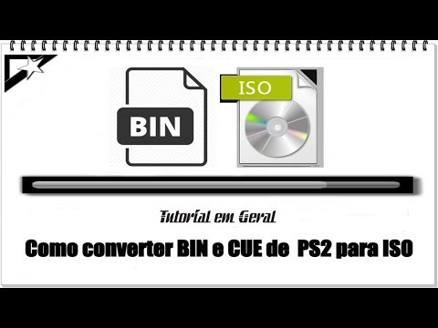 Como converter BIN e CUE de PS2 para ISO