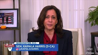 Sen. Kamala Harris Calls Trump's Attacks On Her 'Predictable' And 'Childish' | The View