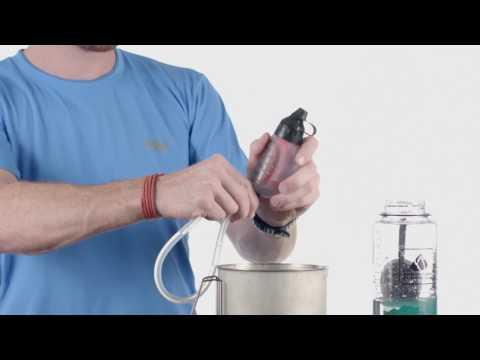 Cleaning Your MSR TrailShot Filter