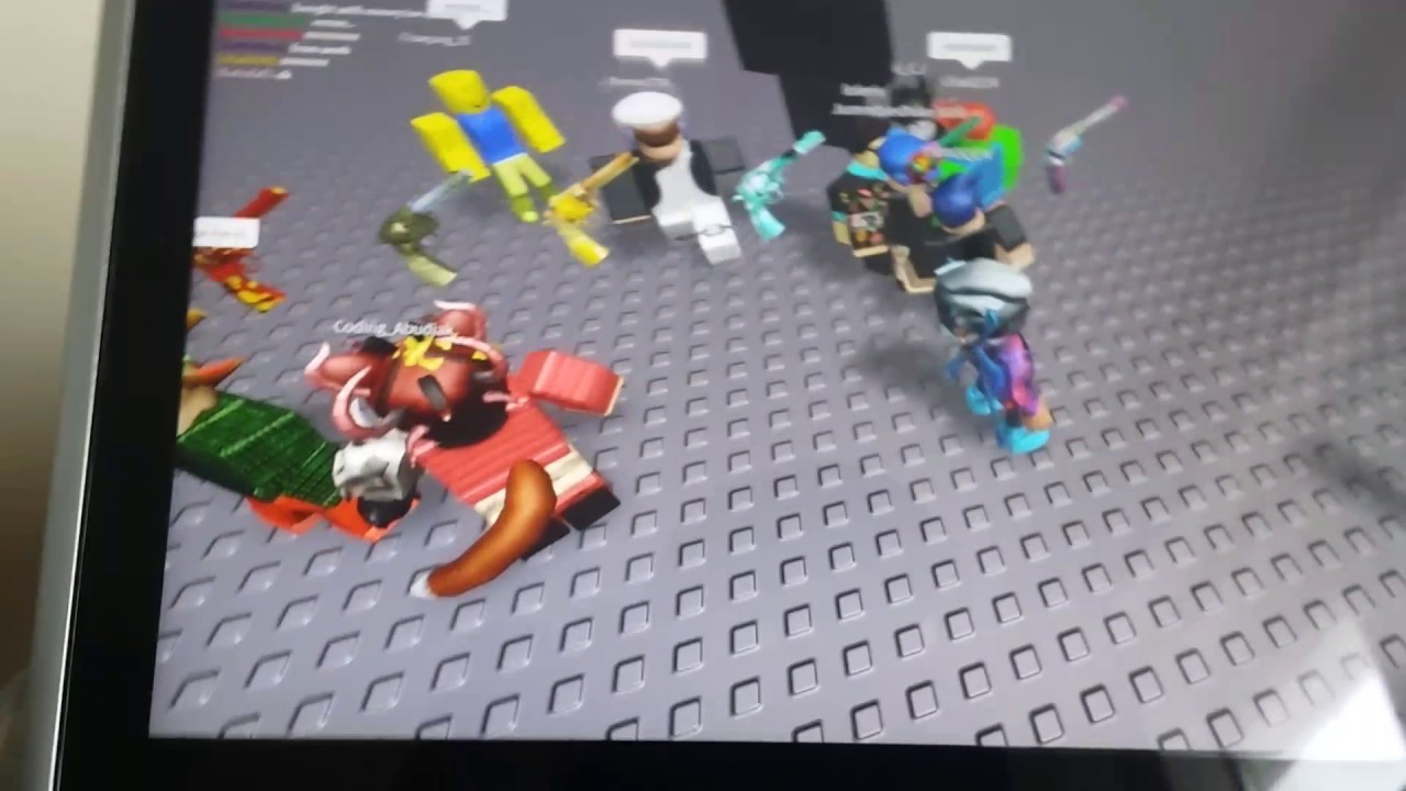 Meeting Coding Abudiak In Roblox Game Creator Youtube