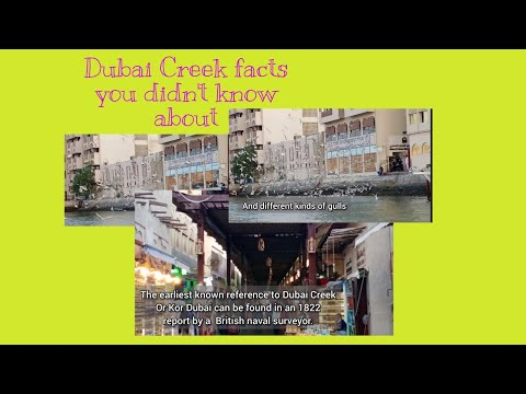 Dubai Creek Facts you didn't know about