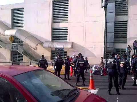 Abuso de la Policía metropolitana en Quito