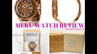 [43] Meku Wooden Watch Review - 100% Zebrawood