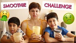 SMOOTHIE CHALLENGE!!!!