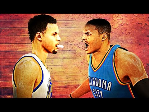 NBA 2K16 - Stephen Curry vs Russell...