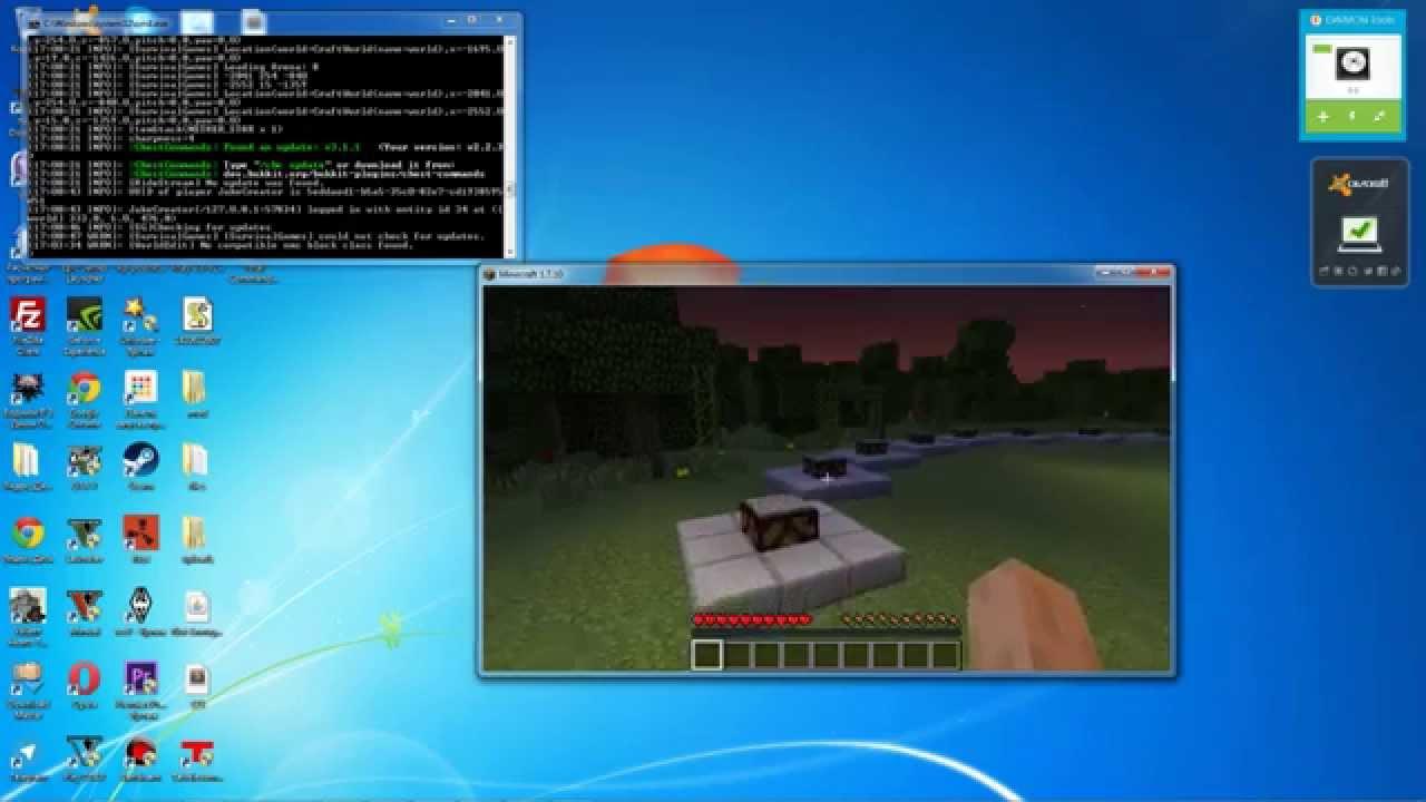 Скачать готовые сервера майнкрафт 1.7.10