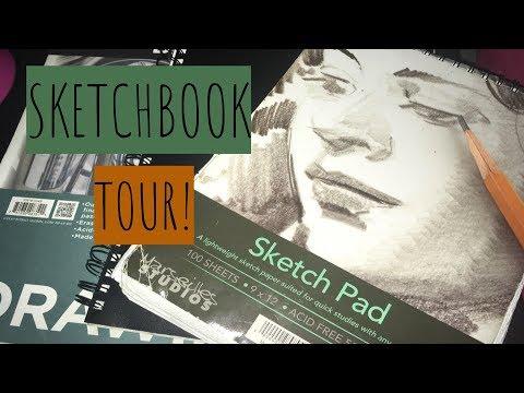 Sketchbook Tour! | Nitra ♡