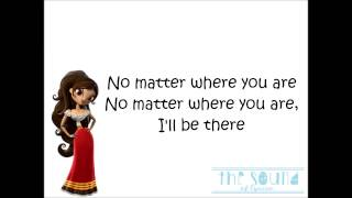 Us The Duo - No Matter Where You Are Lyrics