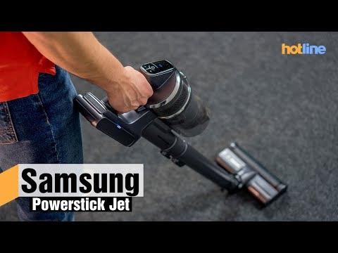 Powerstick Jet (VS9000) — обзор пылесоса от Samsung