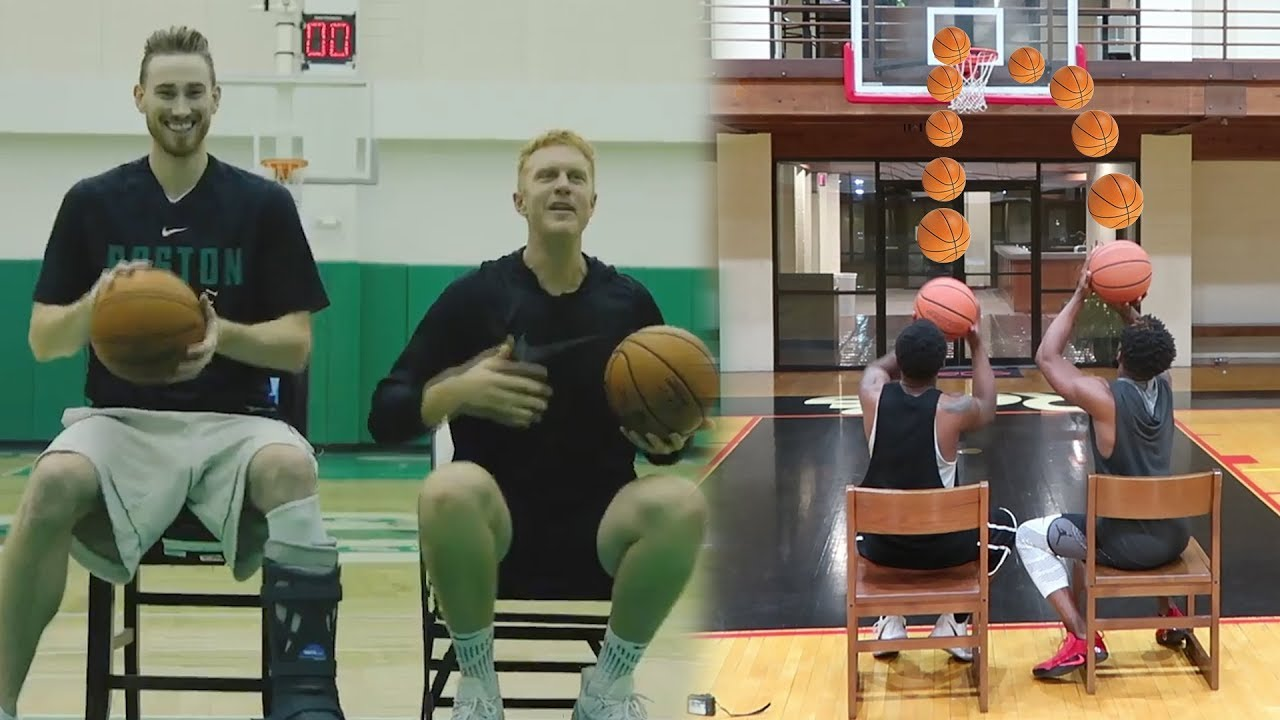 gordan-hayward-injured-chair-shooting-basketball-challenge-loser-destroys-their-game-console