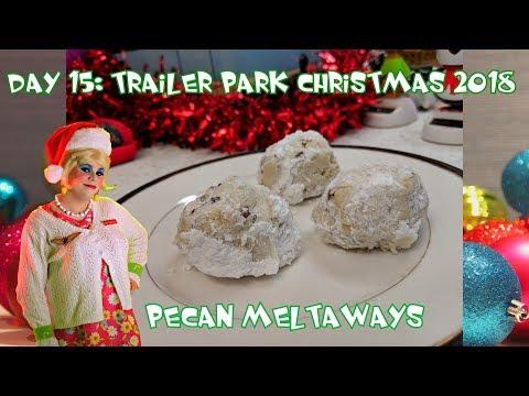 Pecan Meltaways Cookies : Trailer Park Christmas Day 15