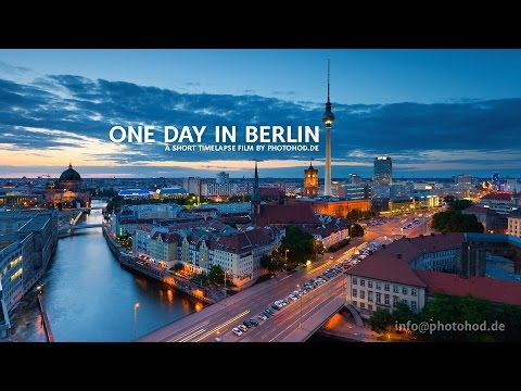One Day in Berlin Motion Timelapse