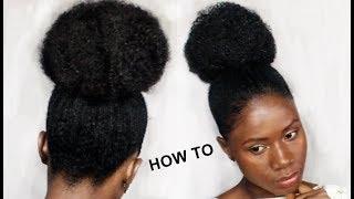 HOW TO STYLE NATURAL HAIR SHORT,MEDIUM NATURAL HAIR- 5 WAYS
