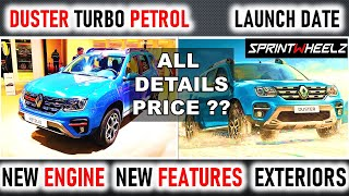 Renault DUSTER Turbo PETROL 😮 TEASED !!🔥🔥 - PRICE LAUNCH DATE, NEW ENGINE 🔥Features KIA Seltos Rival