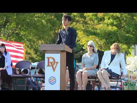 Diablo Vista Middle School 2019 8th Grade Graduation Speech  by Maahir Sachdev