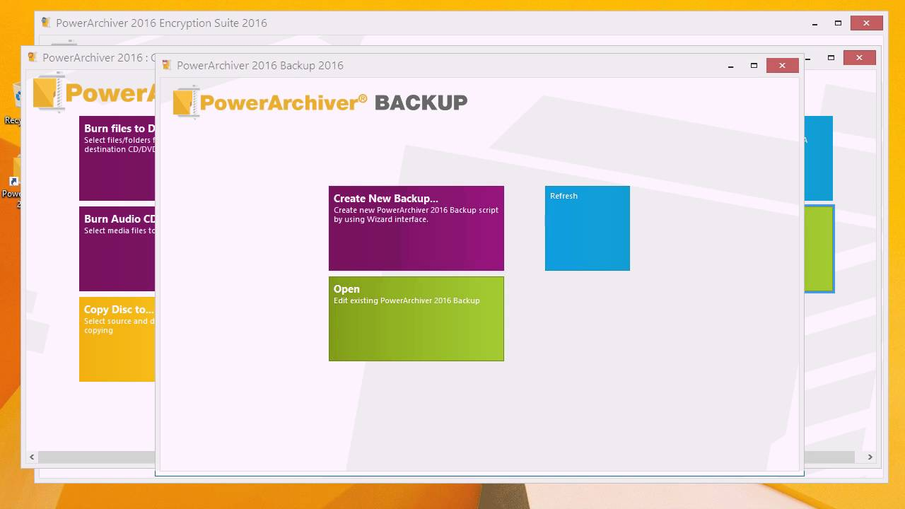powerarchiver 2016