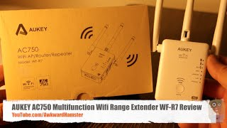 aukey ac750 multifunction wifi range extender wf r7 review