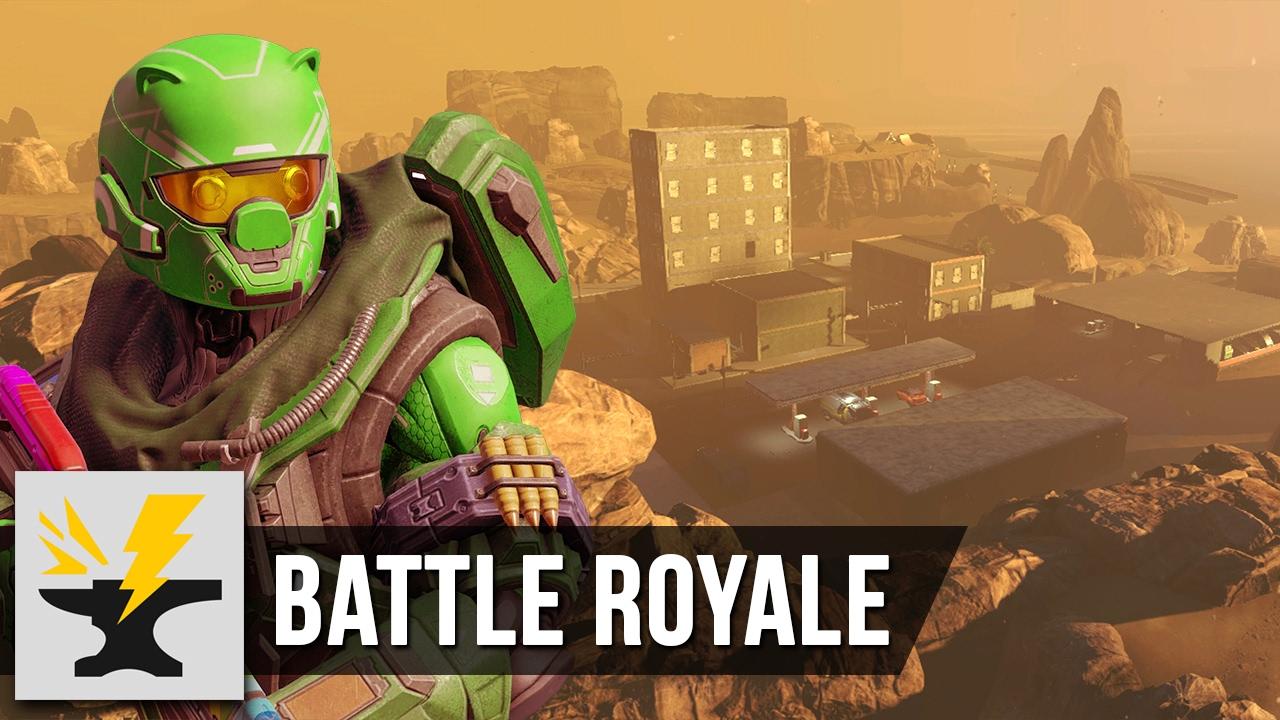 Battle Royale: Bad Lands - Halo 5 Custom Game