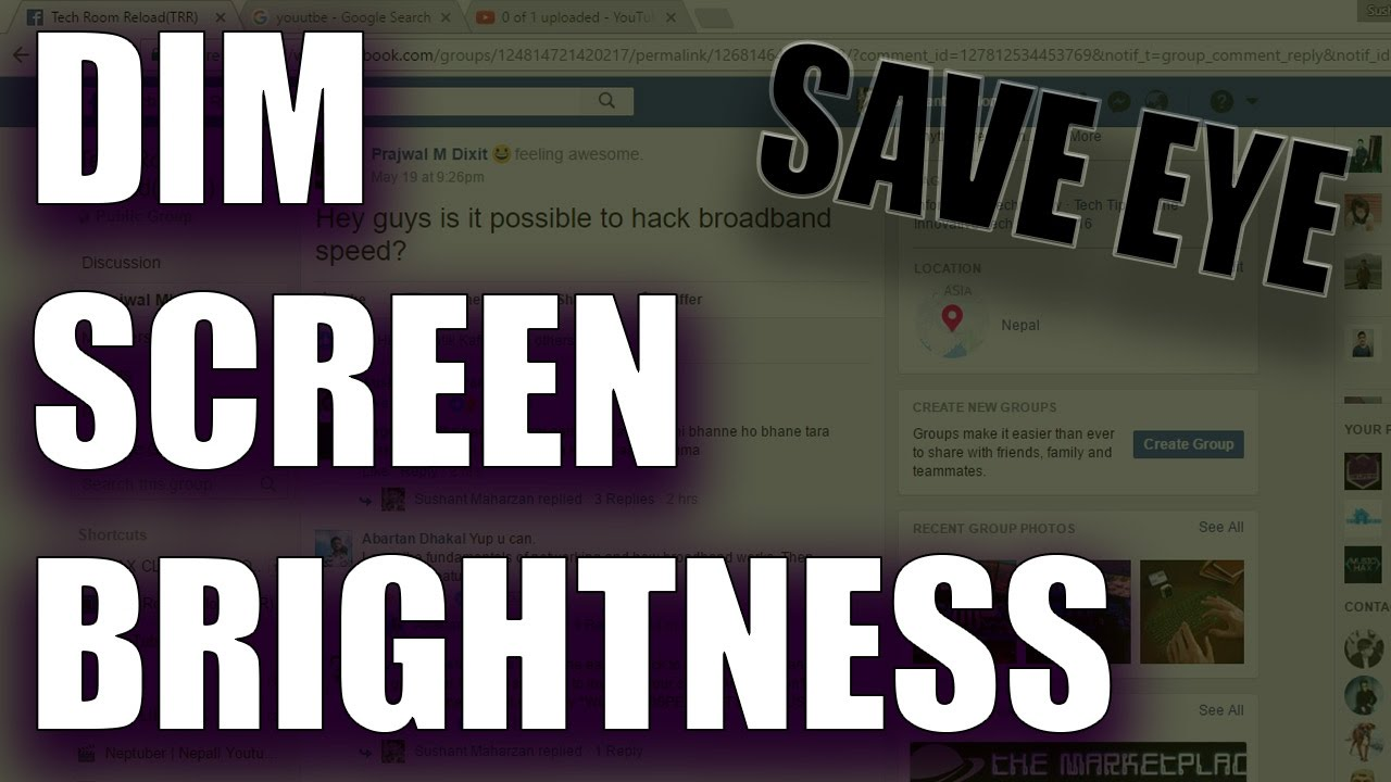 How to make my screen brighter windows 10 - How To Dim Screen On Pc Windows 10 7 8 Dim Screen On Laptop 2017 Easily